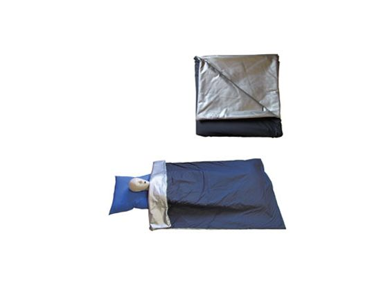 Couverture bactériostatique 90° soudée gris argenté