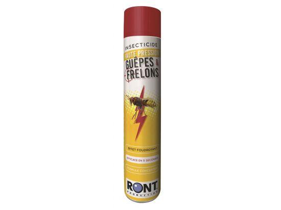 Insecticide guêpe et frelon en aérosol RONT