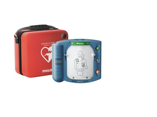 Défibrillateur semi-automatique HS1 Heartstart Philips avec housse