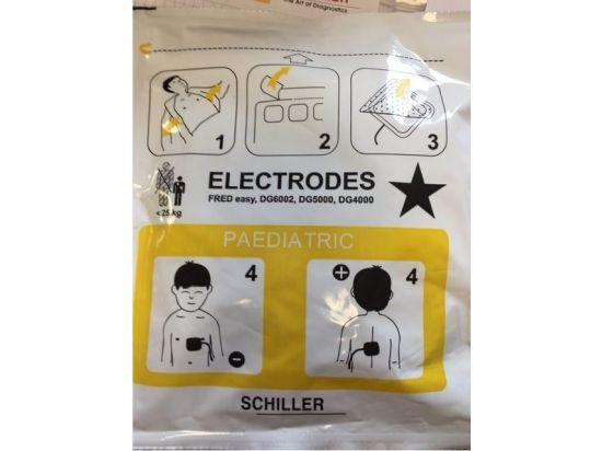 Electrode défibrillateur FRED EASY pré-connectées