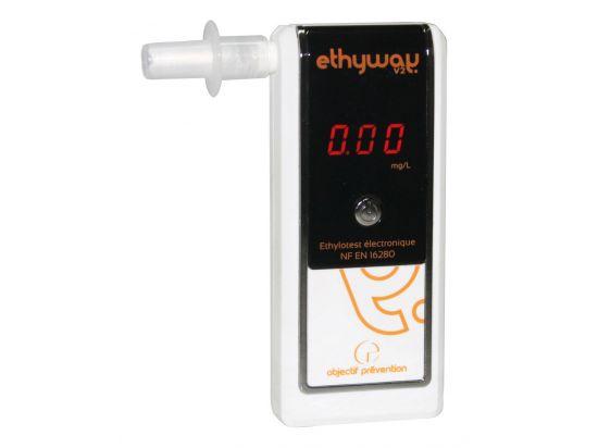 Ethylomètre ETHYWAY V2 - Ethylotest électronique