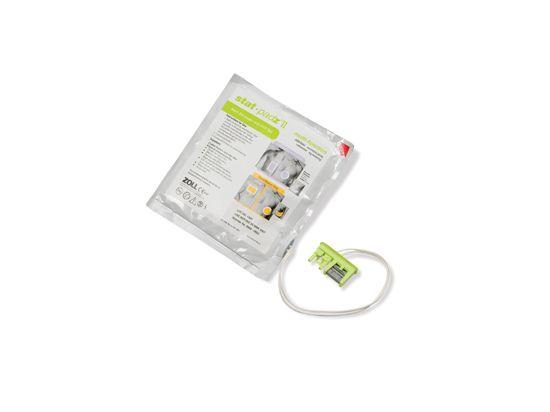 Electrode défibrillateur adulte Stat Padz II AED PLUS ZOLL
