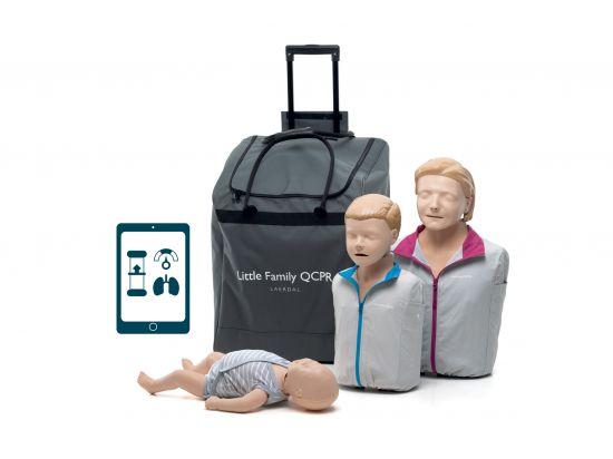 Little Family QCPR - Pack de 3 mannequins secourisme LAERDAL