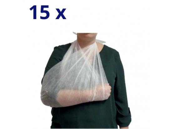 Echarpe triangulaire d'immobilisation non-tissé - Lot de 15