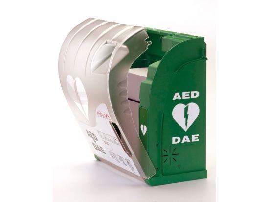 Armoire défibrillateur d'extérieur avec alarme et chauffage AIVIA 200