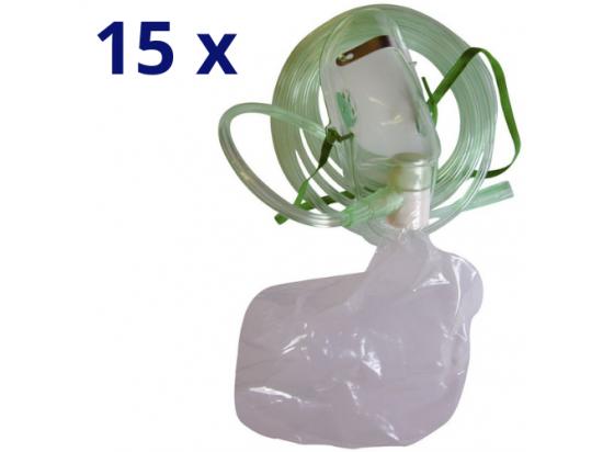 Masque haute concentration adulte - Lot de 15