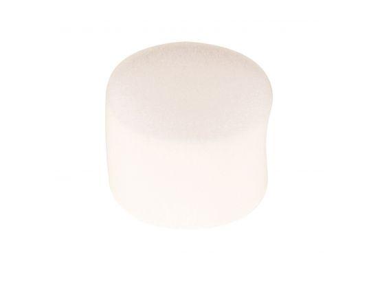 Eponge mousse ronde blanche
