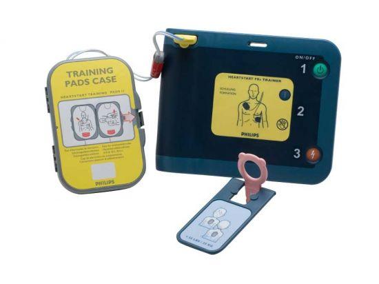 Électrodes pour défibrillateur de formation FRX
