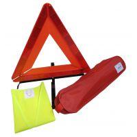 Kit de signalisation voiture avec triangle