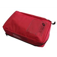 Pochette rouge pour sac de secours Grimm