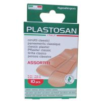 Pansements assortis PLASTOSAN - Boite de 10