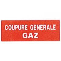 Coupure générale gaz