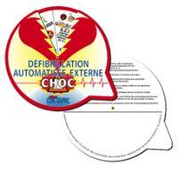 Disque défibrillation automatisée externe - Aide DAE