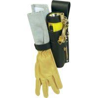 Etui en cuir pour clé/gants ou clé/gants/lampe