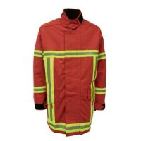 Veste d'intervention pompier Triple Trim Rouge