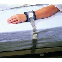 Attache brancard avec fermeture de sécurité pour poignet et cheville