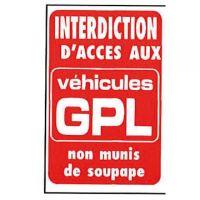 Interdiction d'accès aux GPL