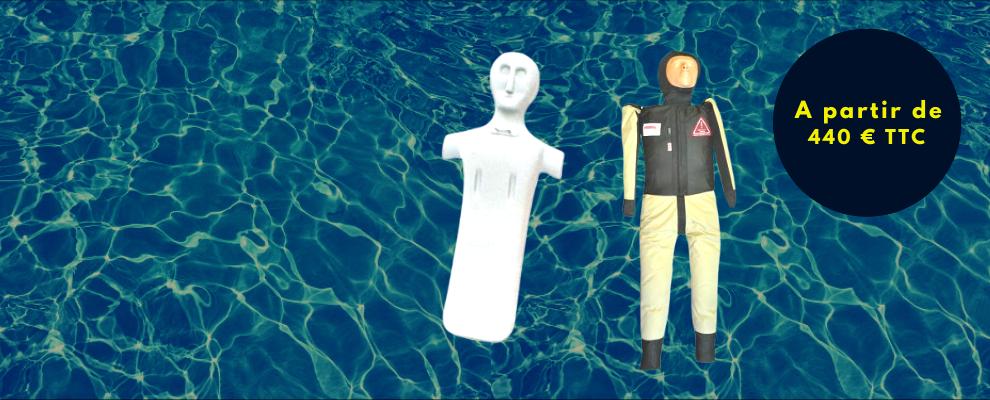 Mannequin de sauvetage aquatique