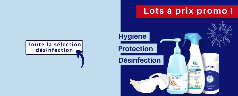 Désinfection et protection médicale