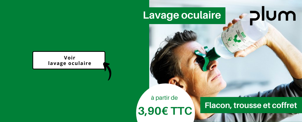 Lavage oculaire | Rince œil