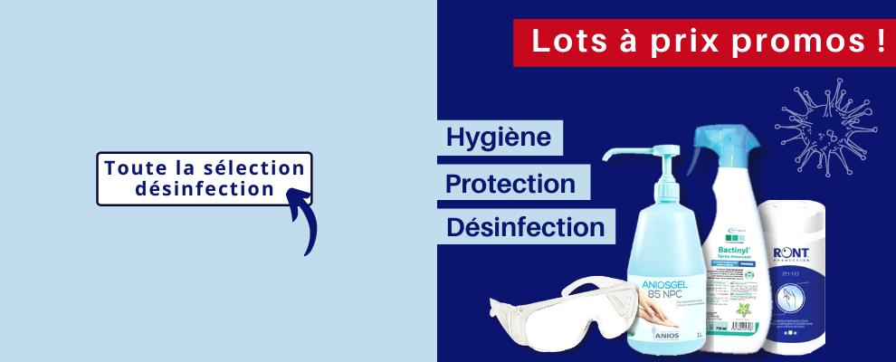 Sélection désinfection et protection médicale