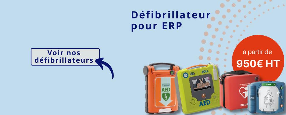 Défibrillateur pour ERP