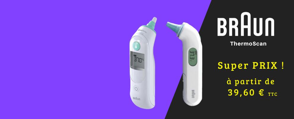 Thermomètres médicaux