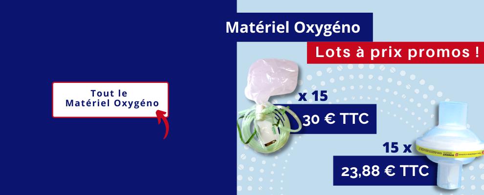 Matériel oxygéno | Lots à prix promo